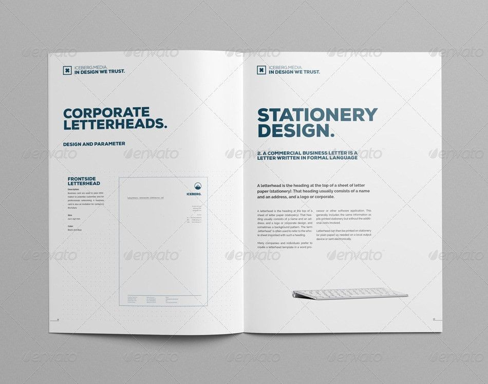Elite Corporate Design Manual Guide - 24 Pages by egotype ...