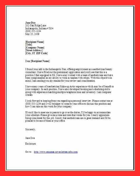 cover letter closing | good resume format