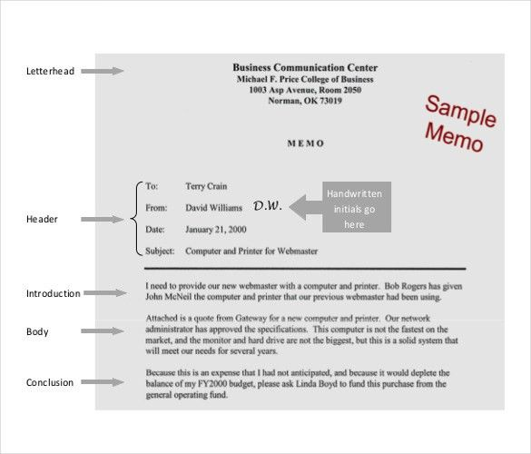 Company Memo Template – 10+ Free Word, PDF Documents Download ...