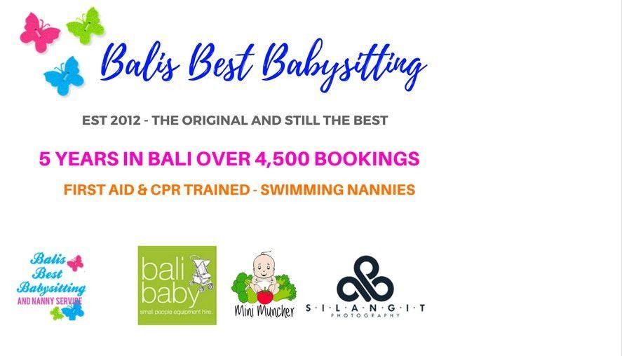Bali Nanny Babysitting Babysitter- Balis Best Nanny Australian Owned!