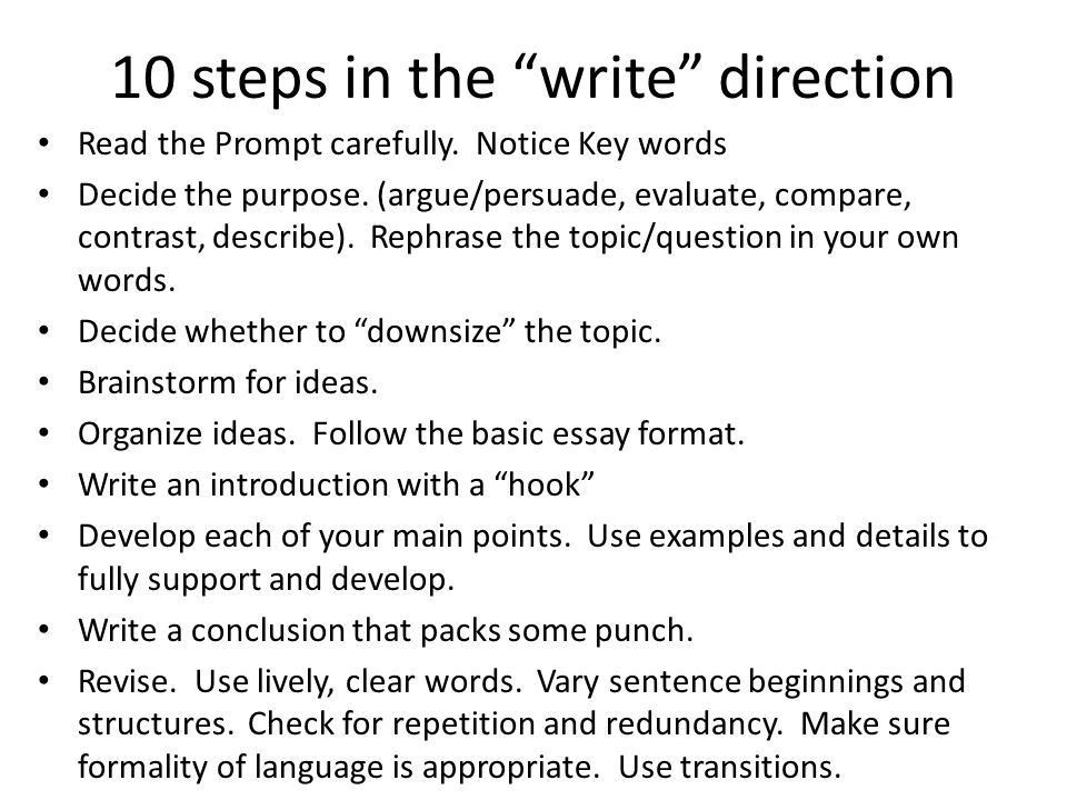 Essay Writing. - ppt download
