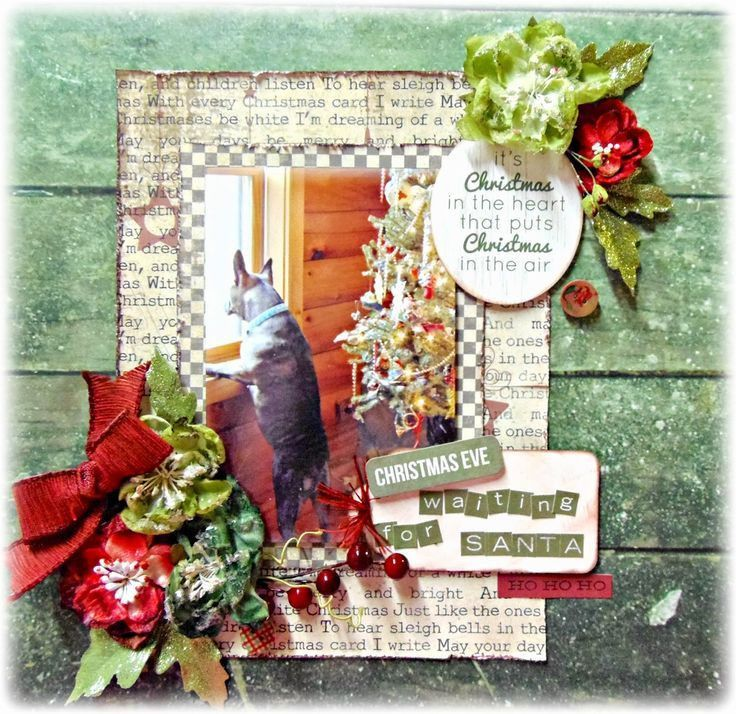 766 best Scrapbooking-Christmas Layouts images on Pinterest ...