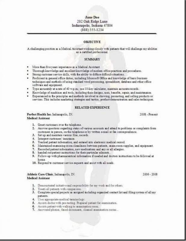 medical assistant resume examples medical assistant resume ...