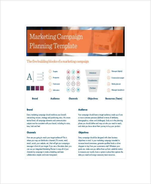 7+ Marketing Campaign Templates - Free Sample, Example. Format ...