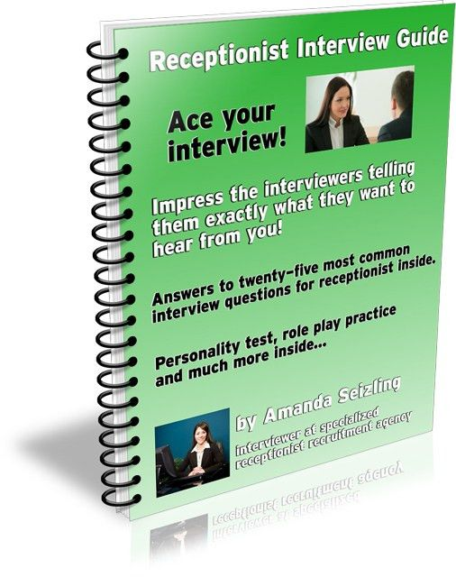 E-book - Receptionist Interview Guide - Receptionist Interview ...