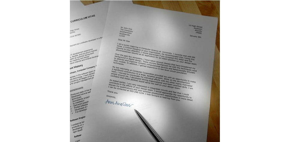 Creating Effective Cover Letters and CV's - Read Write Plus Read ...