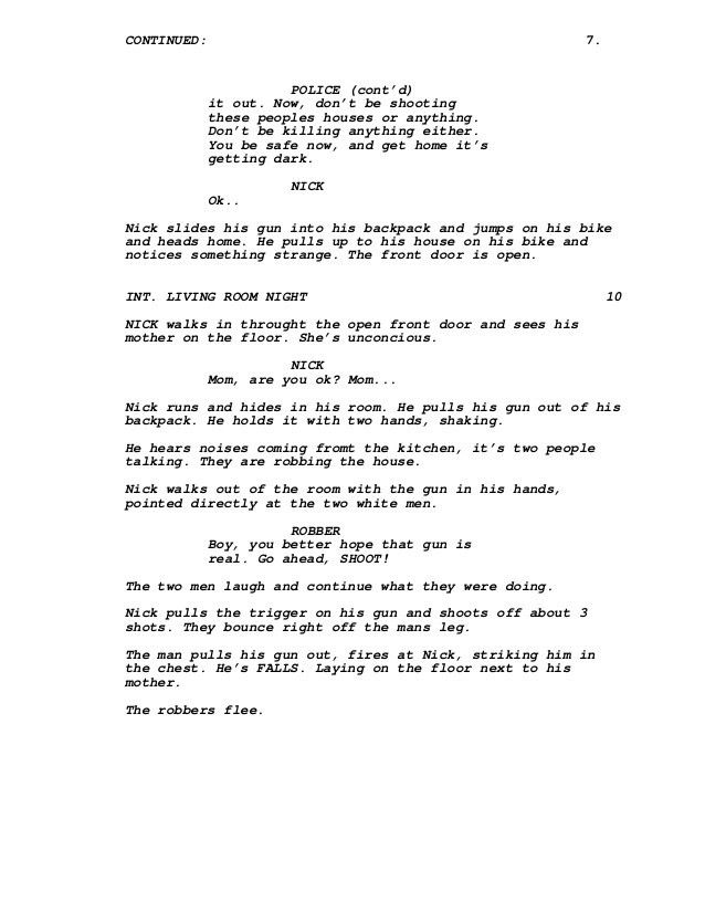 Brotherly Love Script Concept