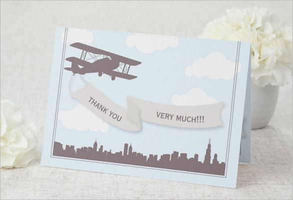 19+ Travel Thank You Cards – Free Printable PSD, EPS Format ...