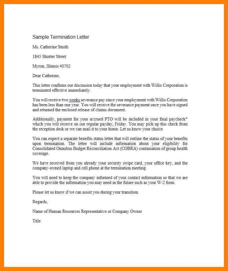 9+ sample termination letter | pilot resumed