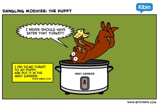 Dangling Modifier: Don't Make This Funny Grammar Mistake - Grammar ...
