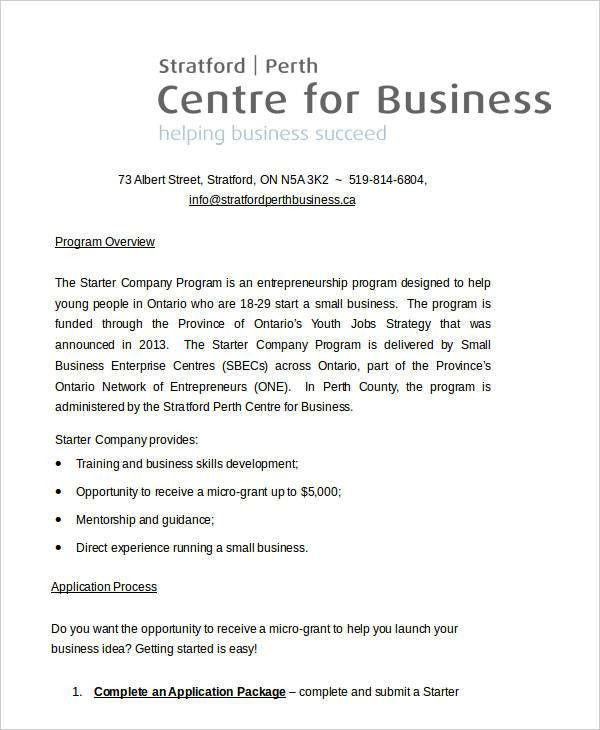 11 Business Paper Templates - Free Sample, Example, Format ...