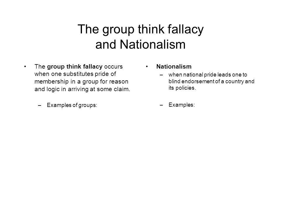Critical Thinking Lecture 5a Fallacies - ppt download