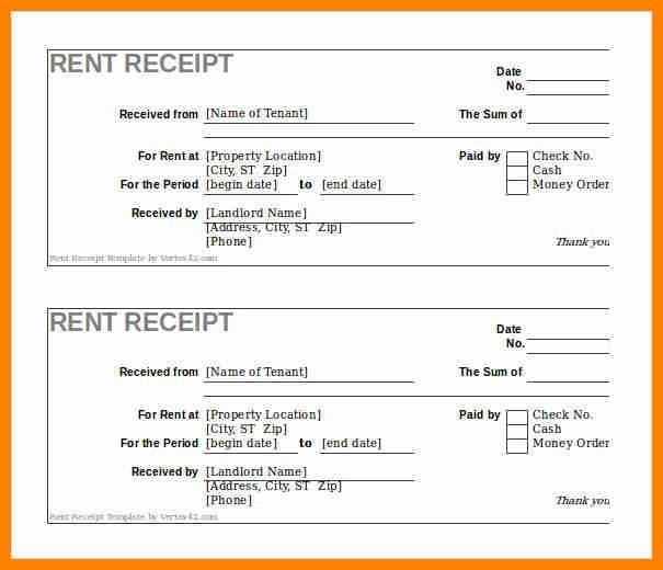 6+ rent receipt format in excel | forklift resume