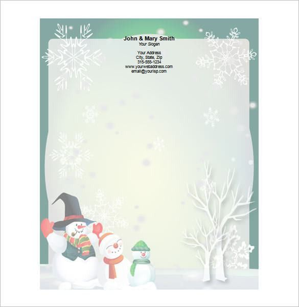 25+ Christmas Stationery Templates - Free PSD, EPS, AI ...