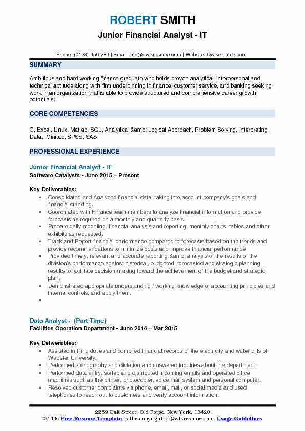 Accounting Resume Samples, Examples and Tips