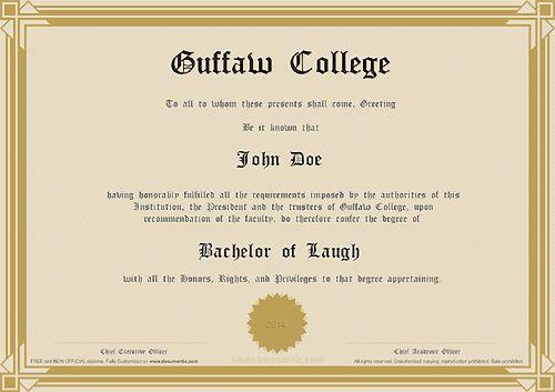 16 Graduation Certificate Templates | Certificate Templates