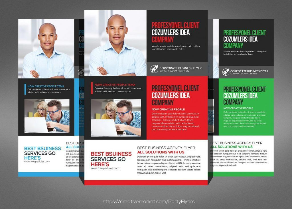 Insurance Flyers: 14 Professional Life Insurance Flyers PSD