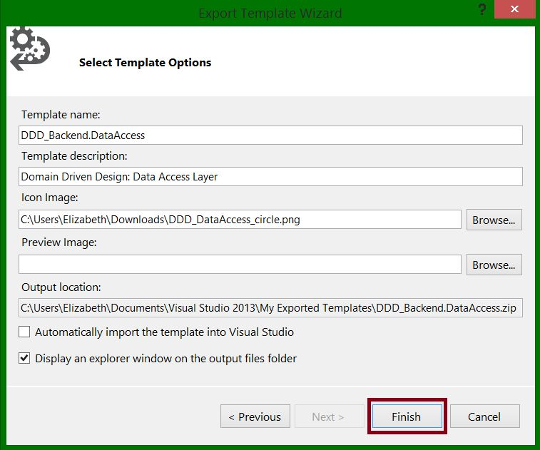 Visual Studio: How to create a solution template with multiple ...