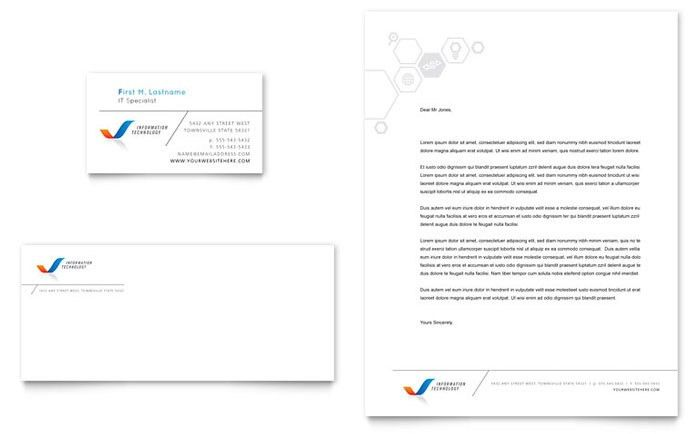 free business letterhead templates microsoft word | Best Template ...