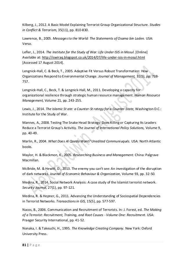 Dissertation Conclusion Sample