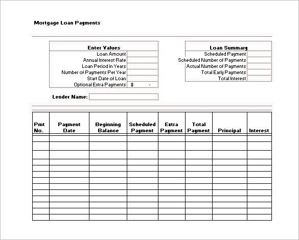 14+ Payment Schedule Templates - Free Word, Excel, PDF Format ...