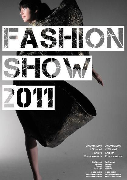 poster 1 | Fashion Show | Pinterest | Poster ideas and Typography