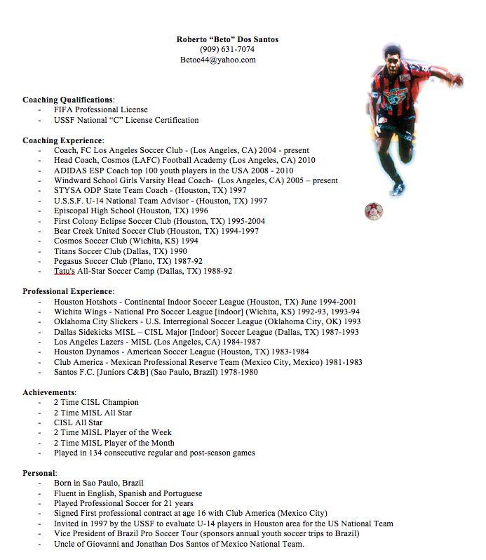 football coach resume example sample resume basketball coach ...