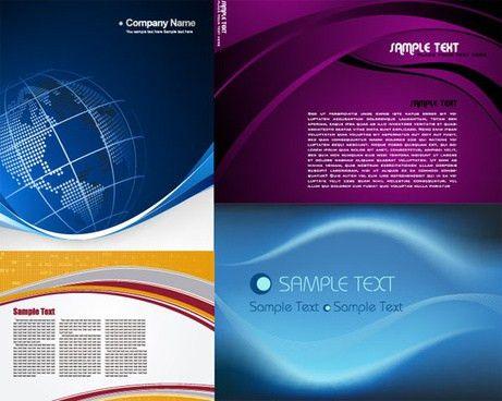 Company profile design free vector download (1,040 Free vector ...