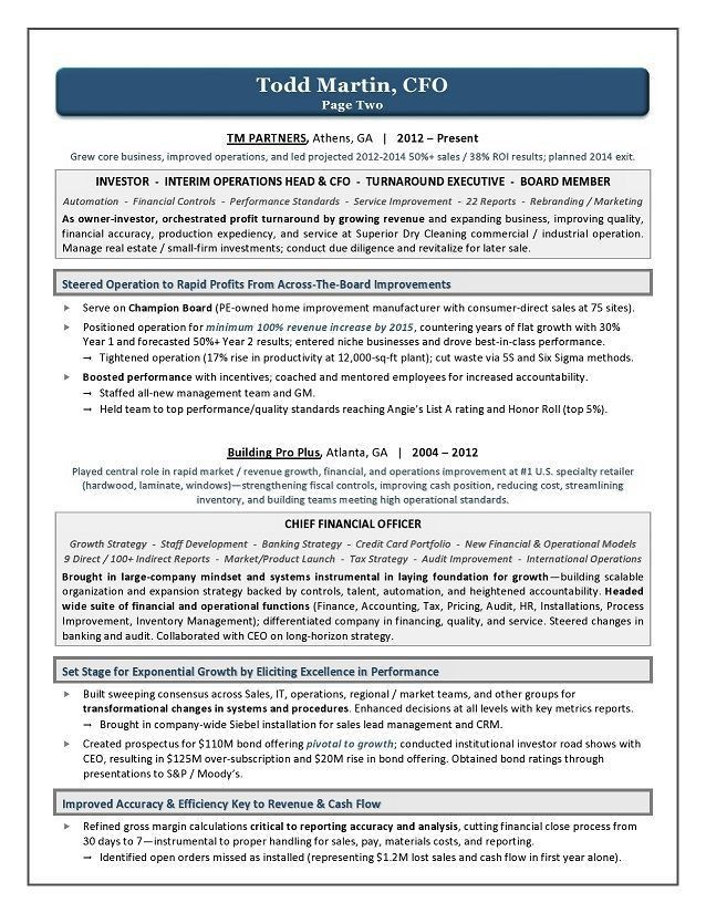 7 best Business resume images on Pinterest | Business resume ...