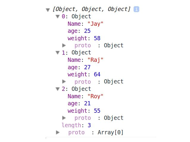 JSON Array in JavaScript Revisisted