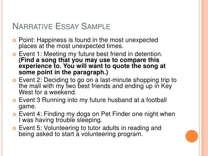 sample narrative essay learning something new can be a scary ...