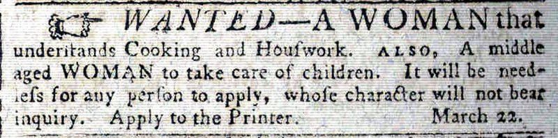 Colonial Era Advertisements - Archiving Early America