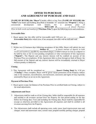 Ontario Real Estate Forms | Legal Forms and Business Templates ...