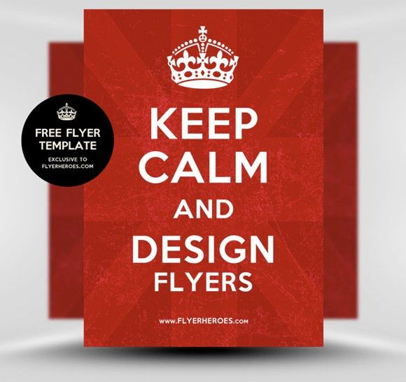 Free Flyer Templates from FlyerHeroes | Design3edge.com