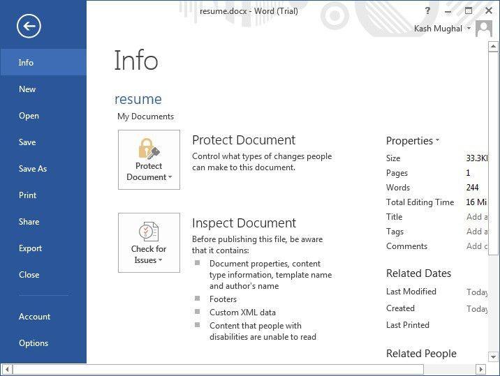 Microsoft Word 2013 Tutorial - MS Office 2013 Training | IT ...