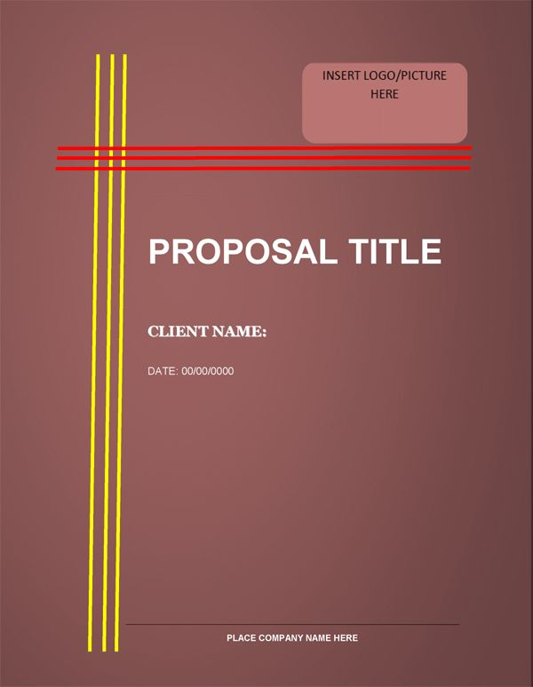 Loan Proposal Template