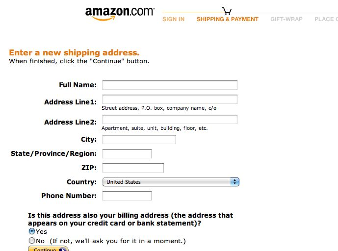 Form Usability: Getting 'Address Line 2' Right - Articles ...