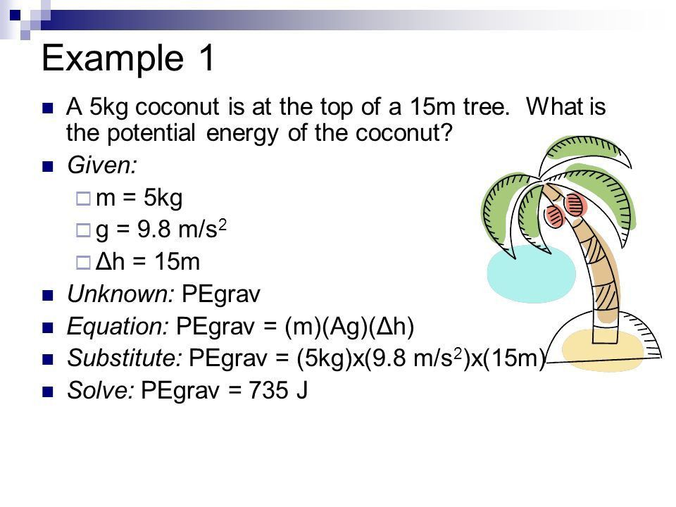 Mechanical Energy: Potential & Kinetic - ppt download