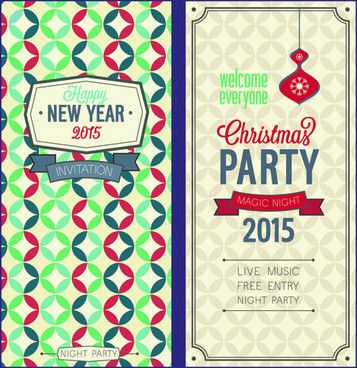 Free vector christmas invitations free vector download (8,156 Free ...