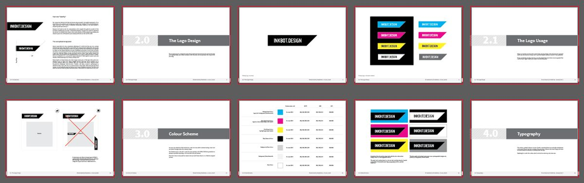 Free Brand Guidelines Template for Download | PDF Logo Presentation