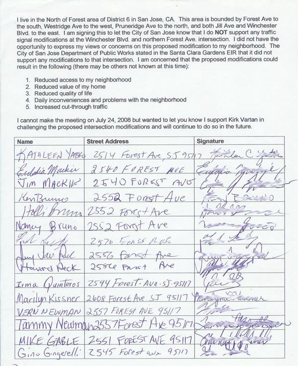9 Best Photos of Neighborhood Petition Form - Sample Signature ...