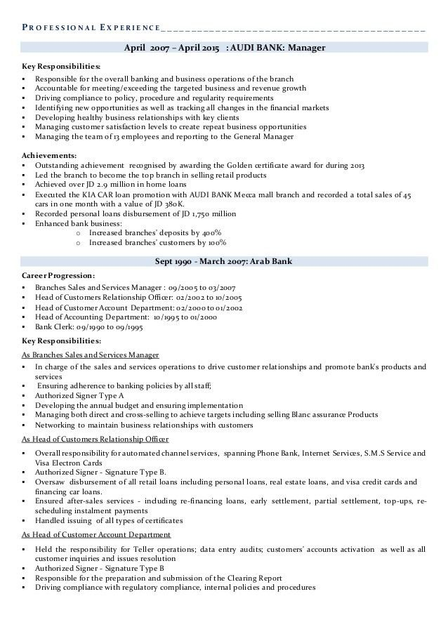 Suha professional banker resume - final