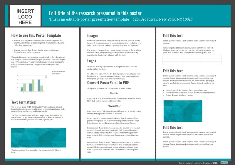 microsoft powerpoint poster templates scientific poster powerpoint ...
