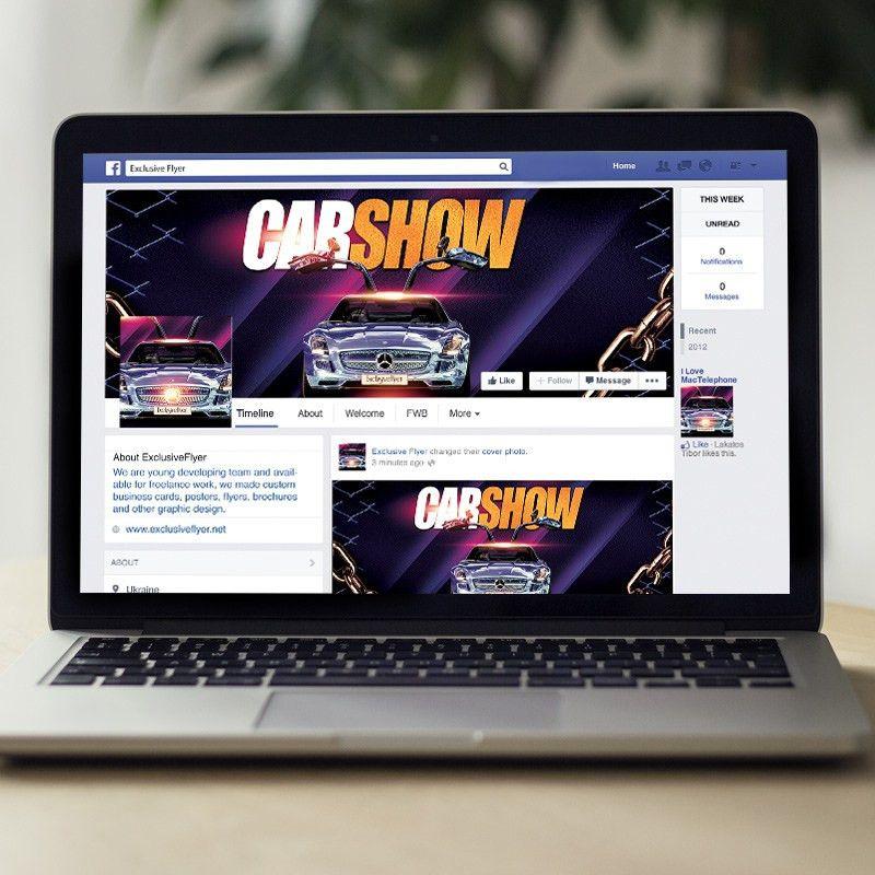 Car Show – Premium Flyer Template + Facebook Cover | ExclsiveFlyer ...