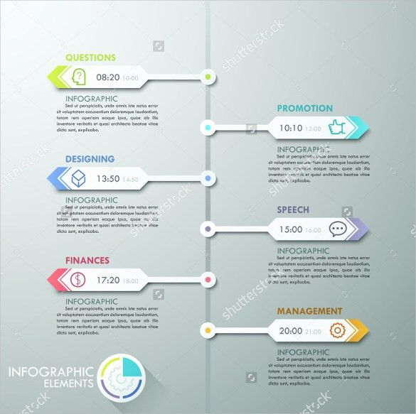 Infographic Ideas » Infographic Timeline For Microsoft Word - Best ...