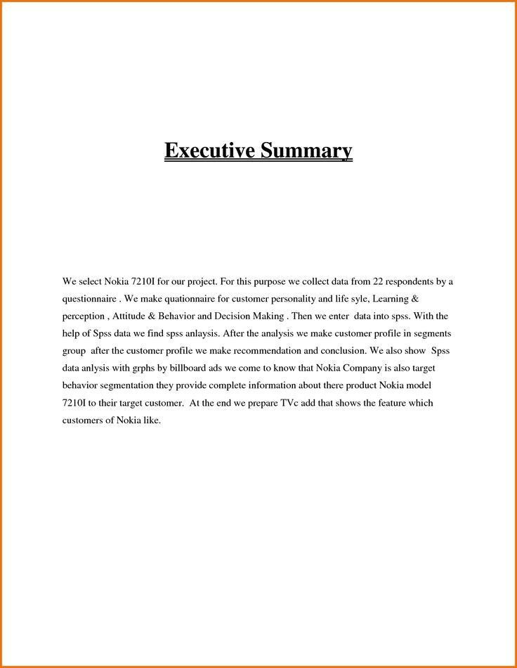 Best 25+ Executive summary ideas on Pinterest | Business plan ...