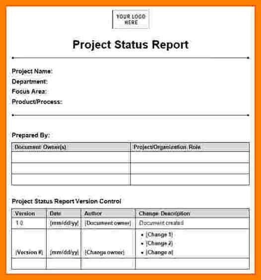 Sample Progress Report. Progress Report Sample Template Progress .