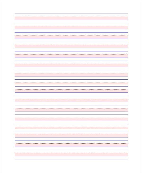 Printable Lined Paper Sample - 8+ Examples in PDF, Word