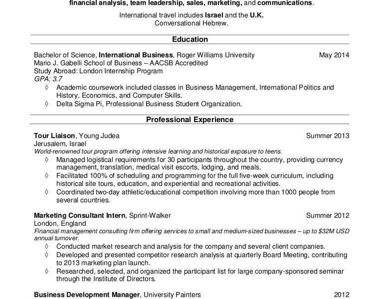College Student Resume Example - CV Resume Ideas