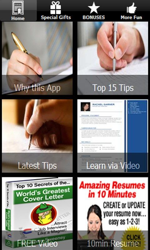 Free Write Cover Letter And Resume Tips APK Download For Android ...